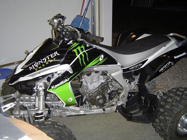 monster energy graphics kit on white 450 kawasaki kfx450 forum Honda 450 ATV click image for larger version name 1 jpg views 2729 size 55 0