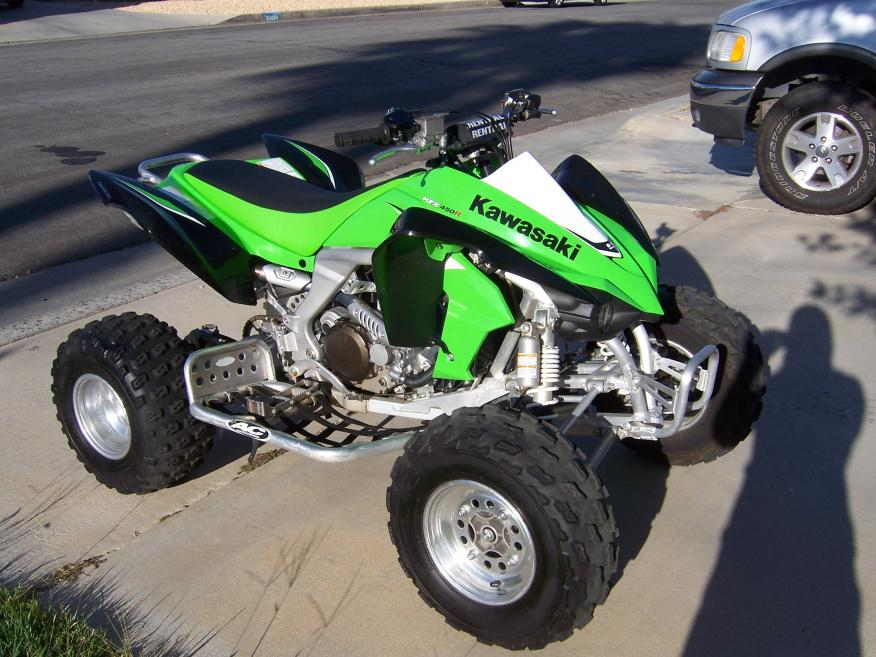 For Sale: 2008 Kawasaki KFX 450r Green Southern California ...