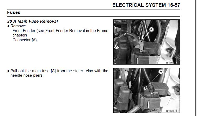 2008 kfx450r problems - page 2 - kawasaki kfx450 forum ... kawasaki kfx 700 fuse box location