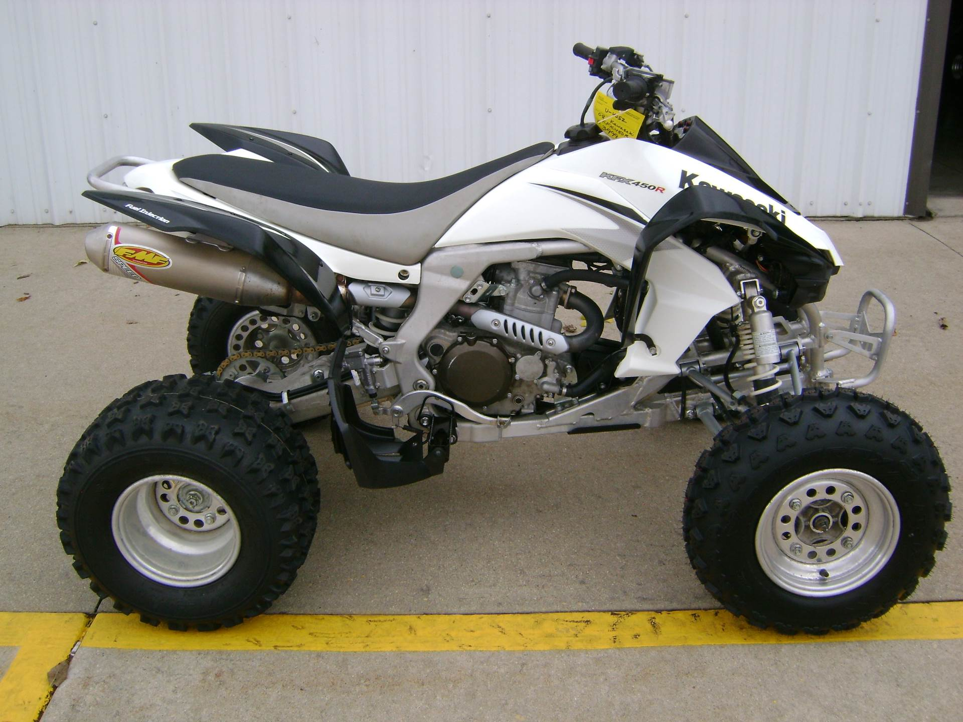 Bought my first atv which happens to be a 2008 KFX 450r! - Kawasaki ...
