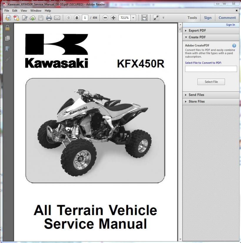 Download kawasaki service user manuals user manuals array free service manual download kawasaki kfx450 forum kfx450hq com rh fandeluxe Choice Image