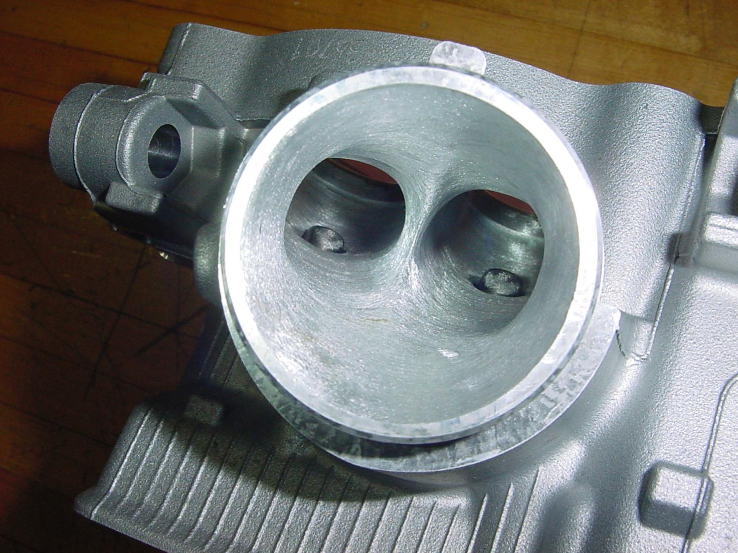 Pics of new head and mild porting - Kawasaki KFX450 Forum