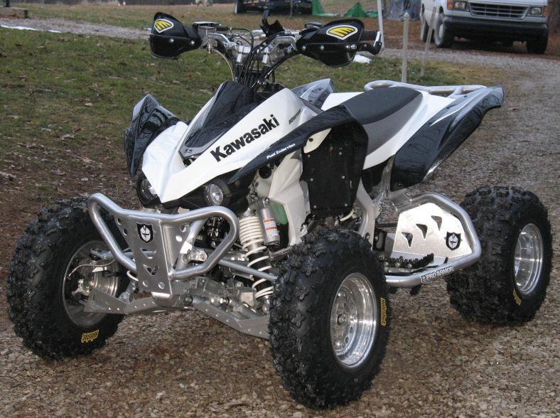 Houser Racing ATV Tie Rod Cross Country Pro Series Kawasaki KFX450 KFX 450 07 08