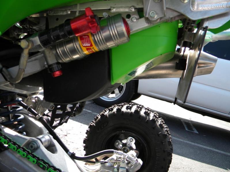 Kawasaki KFX450R FCI Fuel Customs Intake with air box